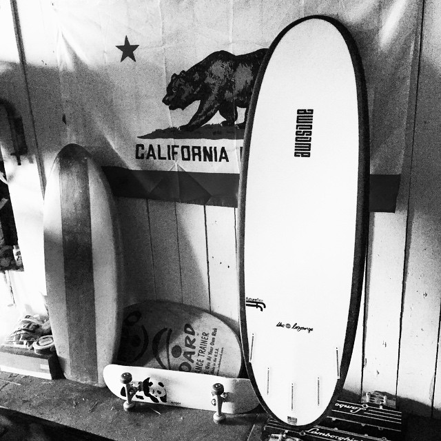 the superlozenge. 5'4 x 19 7/8 x 2 5/16 #futureflex the small wave machine #awesome #awesomesurfboards #surfing #madeincalifornia
