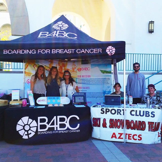 Thank you to the @sdsusnowteam for hosting our #CheckOneTwo outreach booth on campus at San Diego State today! This is our first time on this beautiful campus & we're stoked for the opportunity to spread the good word on early detection & prevention....
