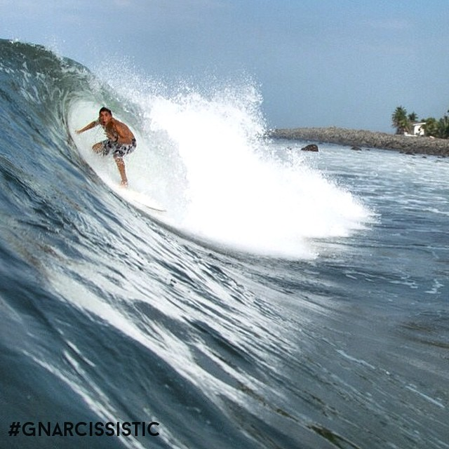 Punta Roca surf shot by @sivarwaves with NIKON D7100 + @spl_waterhousing + Fisheye Lens. #gear #photo #surf #GNARCISSISTIC