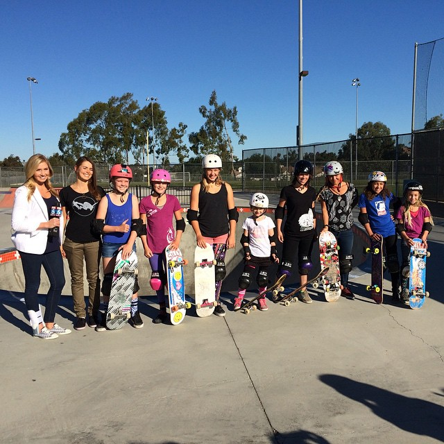 Solid crew on hand for this morning's FOX 5 San Diego shoot at @encinitassk8park.