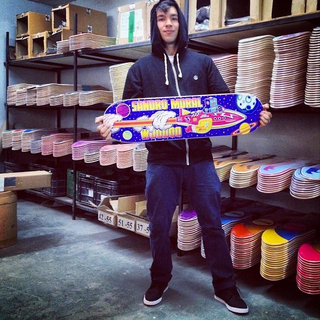 """Serie """"Navesitas"""" #woodooskateboards por @sandromoral #Skate #Volcom #SandroMoral"""