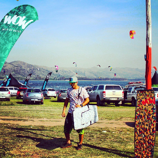 Wow en makani beach #WOW #kitesurfing #2014