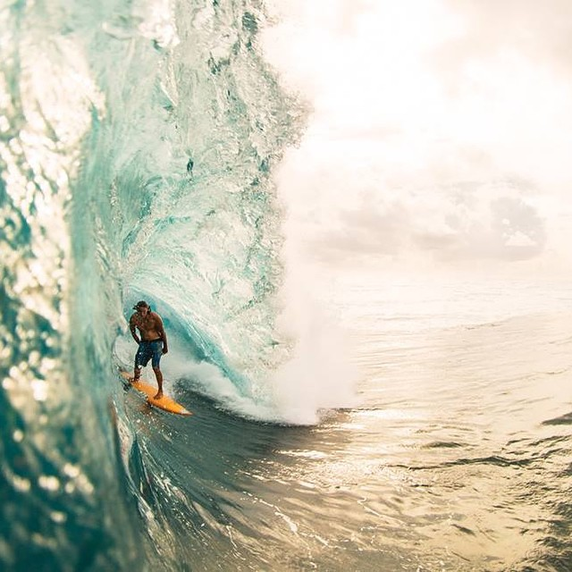 """Si queres algo que nunca tuviste deberás hacer algo que nunca hiciste."" Mikala Jones #soul #surf #waves #justpassingthrough #reefargentina"