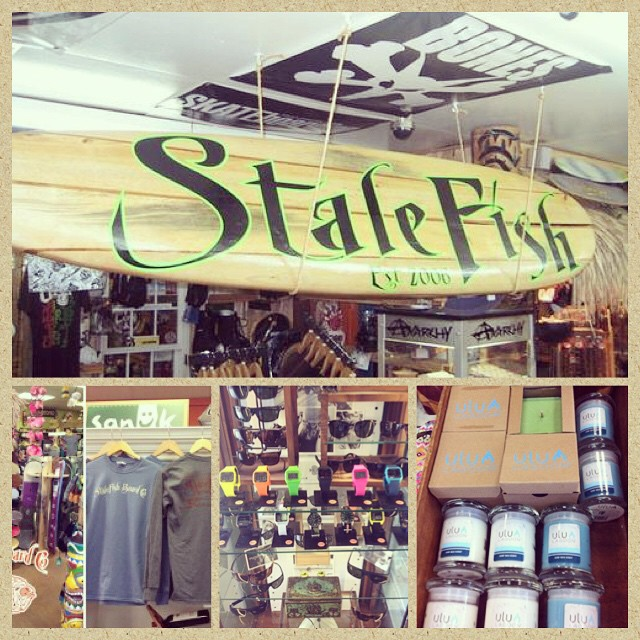 @stalefishboardco is our retailer of the week! Be sure to check them out.  #stalefish #skate #surf #apparel #retail #ululagoon #candles #getonit