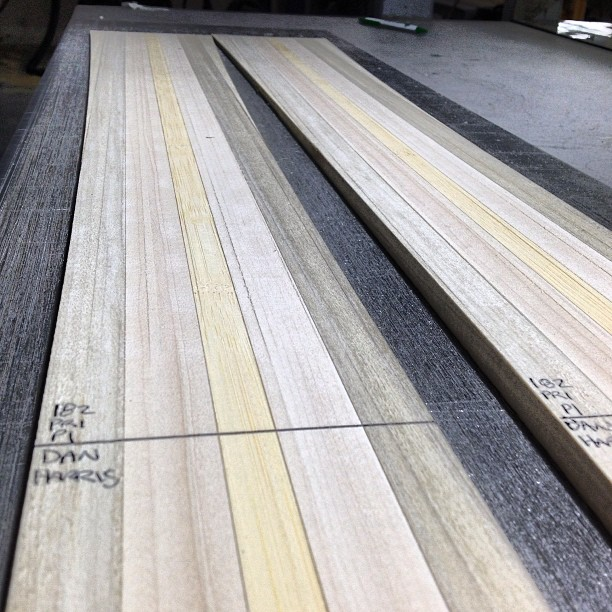 These poplar, maple and bamboo cores have zero knots, zero finger joints and a perfectly linear grain pattern. Our standards are high to ensure that our skis out last and out preform all mass produced skis. #madeintheUSA #detailscount