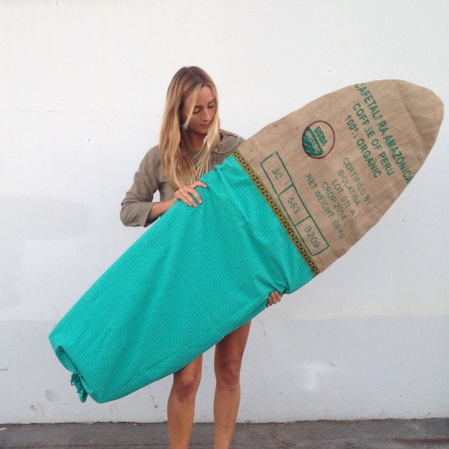 Donating this 6'0 board bag to the Save The Waves Film Festival. The event is tomorrow in San Diego and raises funds to support environmental campaigns and world surfing reserves ❤