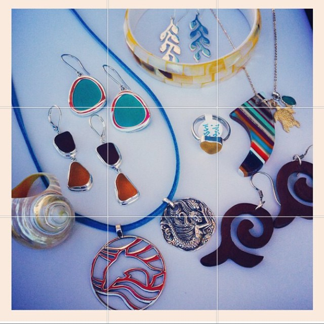 Just a few of our favorite things from our friends @Bettybelts in Ventura! They have the most amazing sea glass rings and beautiful sea inspired jewelry. Check them out at www.bettybelts.com #bettybelts #ventura #awesome #seaglass #jewelry #custom...