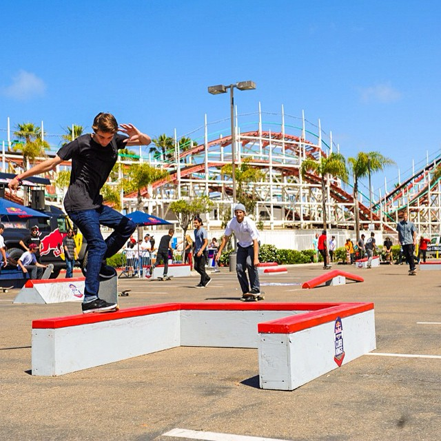 Calling all shredders who are 18+! Tomorrow from 3-5pm at @thelocalpb @redbullsd will be hosting the Red Bull Collegiate Curb Jam that is open to all skaters. We'll have a booth passing out goodies and demoing Jellys! #jellyskateboards #thelocalpb...