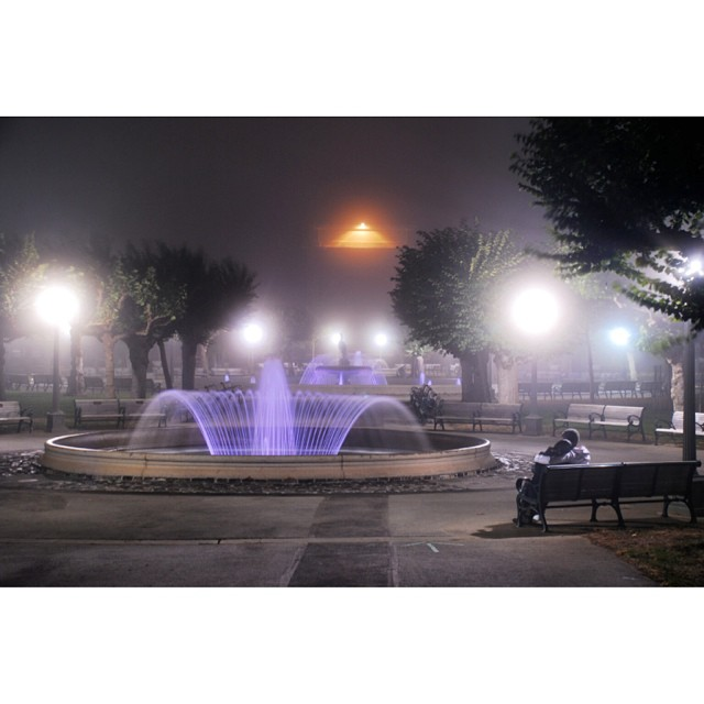 An evening with my wife before she said yes.  When the fog rolls in we love to walk the park #tbt #julesandclay #ggp #california #sanfrancisco #canon #claytonhumphriesphotography