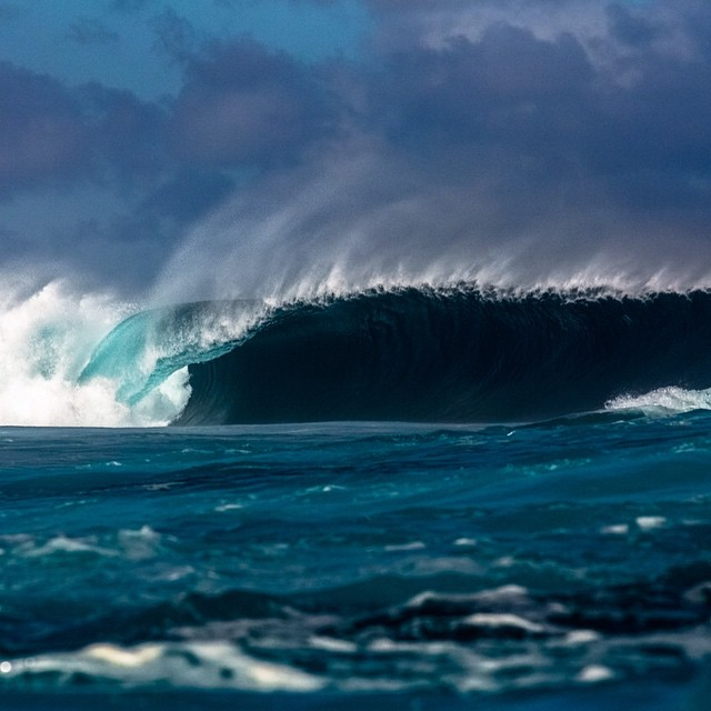 Mind surfing this Fijian death trap. If you know where this is, you know why no one is on it. ;) Though it was absolutely unsurfable this day and we were all bummed that we couldn't get a session in, it was spectacular to witness the flip side of a...