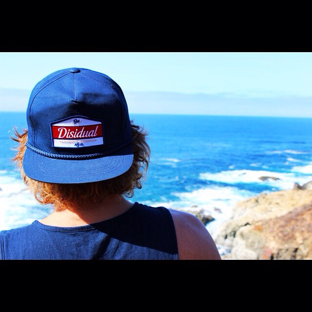 CALIFORNIA DREAMING || Team rider @jk_sims checking out the scene in our Hark Snapback #disidual #distinctindividuals #brokeandstoked