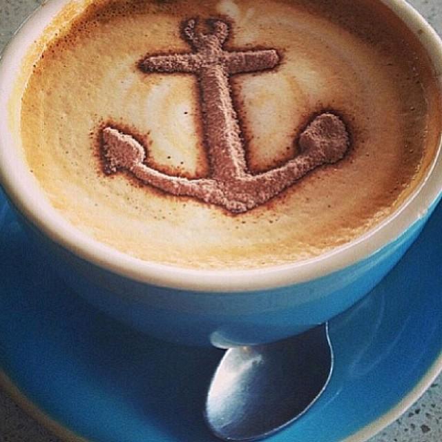 Post Halloween coffee anyone? #localhoneydesigns #tgif #anchor #coffee #takeiteasy #headtothebeach #beautiful #fall #california #coastside #weather #saltyair #love
