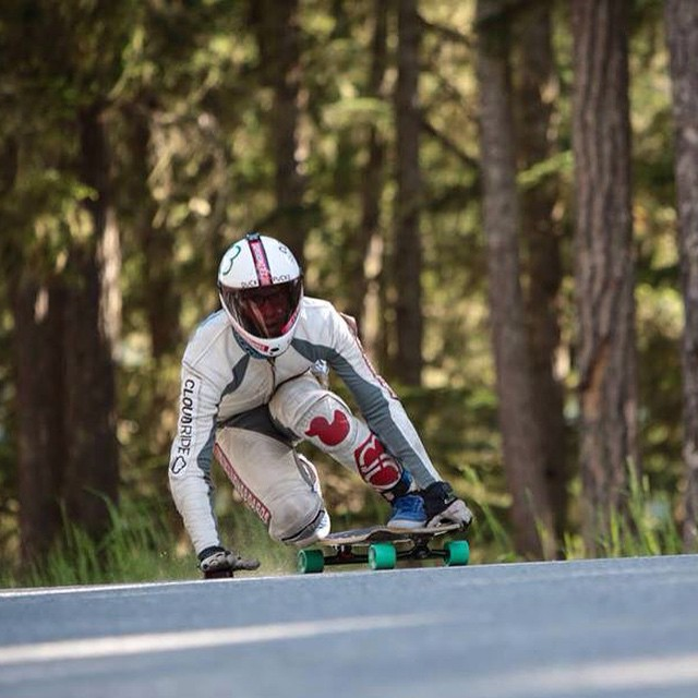 #flashbackfriday to whistler 2013 with @snack_skates coming around a scrubby corner. The goal is not to slide out here on this rough pave! This last year was even rougher, next year is going to be crazy! Photo: @wipp1  @whistlerlbfest #whistler...