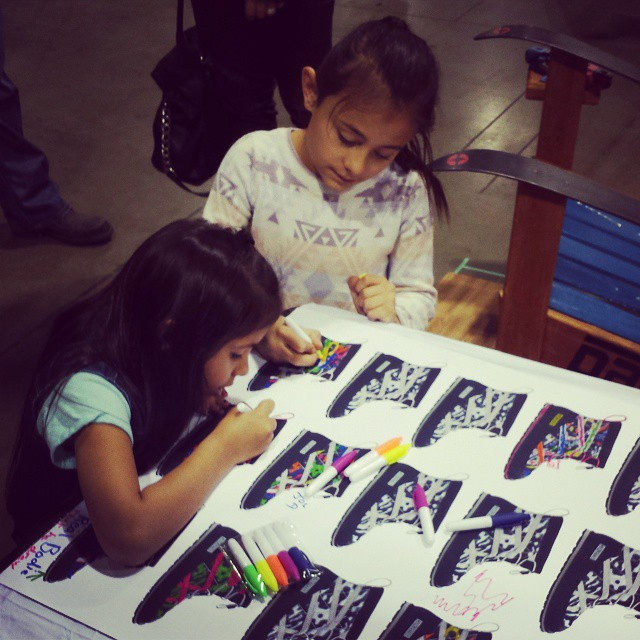 Kids designing their own Bodie #pakems #shoes #instacool #instakids #milehighpakems #colorado #denver