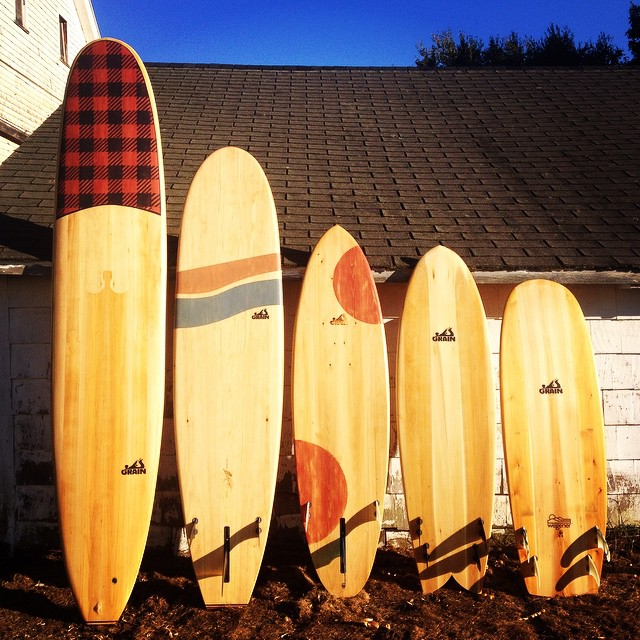 The GRAIN Surfboard crew is back in San Francisco, and are holding an open house on this Saturday, 5-7 PM, at Firehouse 33 in the Oceanview neighborhood. The address is 117 Broad Street, SF, Ca.  Come out and see the progress of their current DIY...