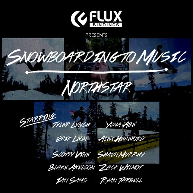 Wake up Saturday morning with Flux Binding's Snowboarding To Music from @skinorthstar only on the @snowboardermag website snowboarder.com. This episode features @scottyvine @sababa_life @ryan_tarbell @iansams @erikleon_ @yumaabe @krocadil...