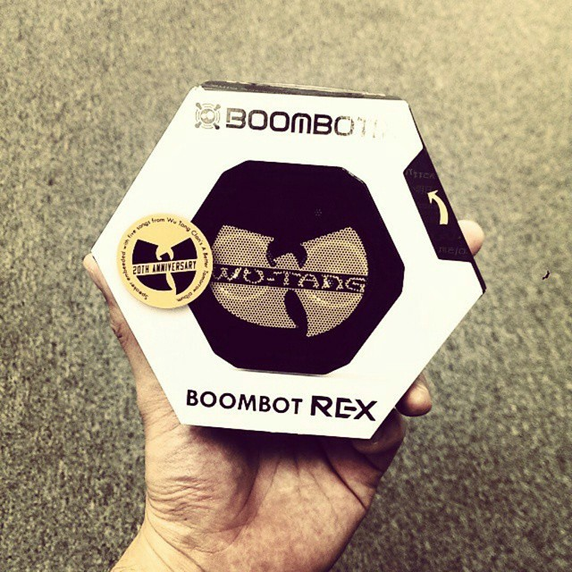The #WuTang has been released! You can still enter to win one along with other custom #swag by clicking the link in our bio #abettertomorrow #ftw #giveaway #exclusive #boombotix