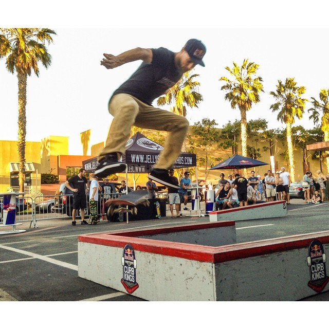 @redbullsd's @sewakroetkov showin' us what's up at the Collegiate Curb Jam