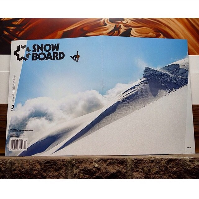 Congratulations to Flux rider @chrisrasman for gapping onto the full cover of @snowboardmag with one hell of a photo! Well done Chris! ❄️