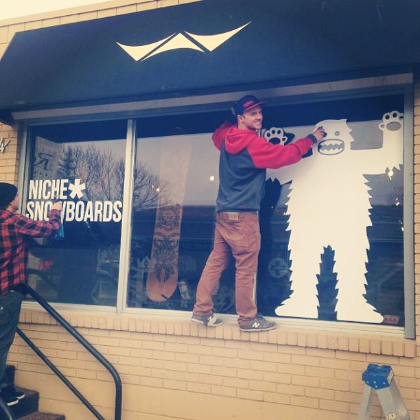 Regram from @royalboardshop - what's with Canada and awesome Niche window displays?! Thanks guys!