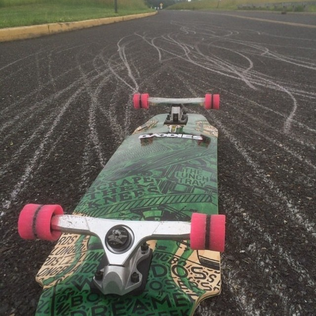 #regram from @arty417. Dropping thane all over the place with a DB lunchtray! Keep up the good work!  #surfrodz #thane #coredwheels #cores #longboarding #gnar #dblongboards #lunchtray #dblunchtray