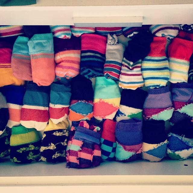 El cajón de un verdadero fan de @tiendasuarez #loveyourfeet #socks #loveyoursuarez