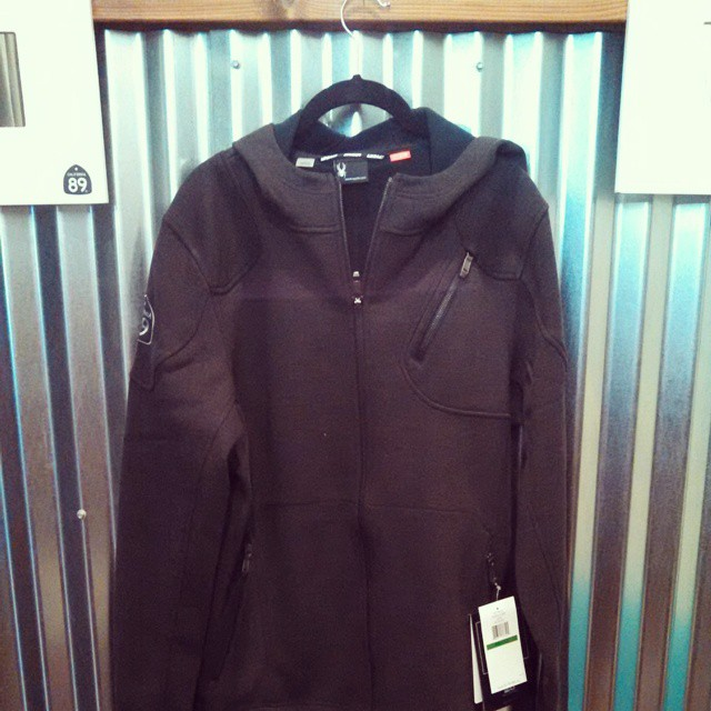 #NewProduct keeps rolling in. Men's #Spyder vectre jacket with #CA89 cobranding. $139