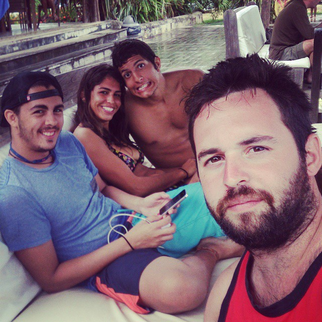 #chilling in #playavenao #venao #panama #beach