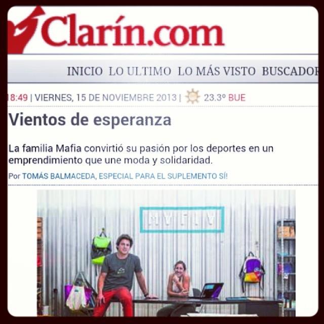 GO BEYOND. #diarioclarin #mafiabags #news #entrepreneurs