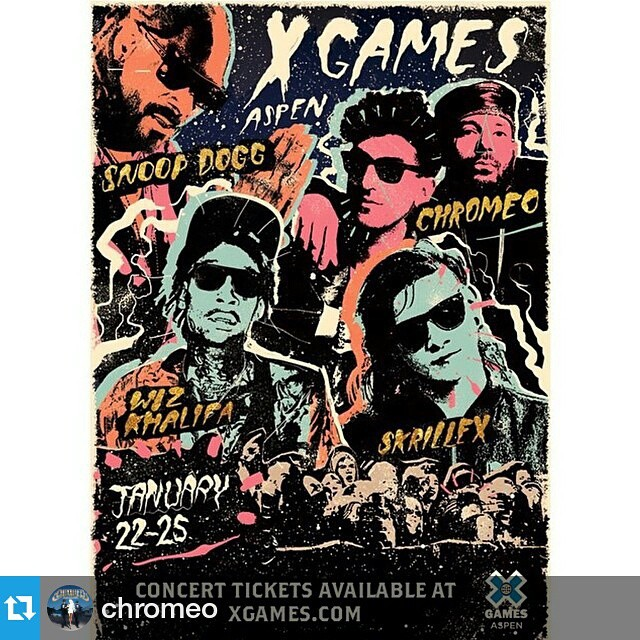 #Repost from @chromeo —  Not mad at this. @xgames