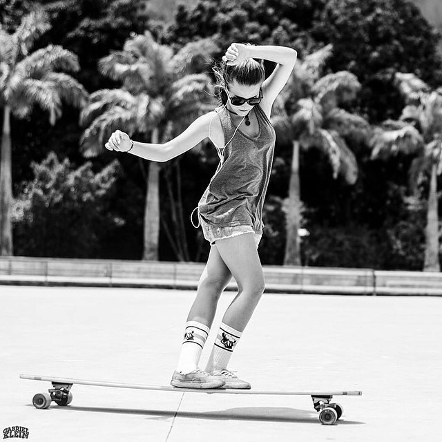 Good morning, buenos dias, bon dia from #Brasil! @aniinhapadilha shot by @instakleingabriel.  #longboardgirlscrew #girlswhoshred