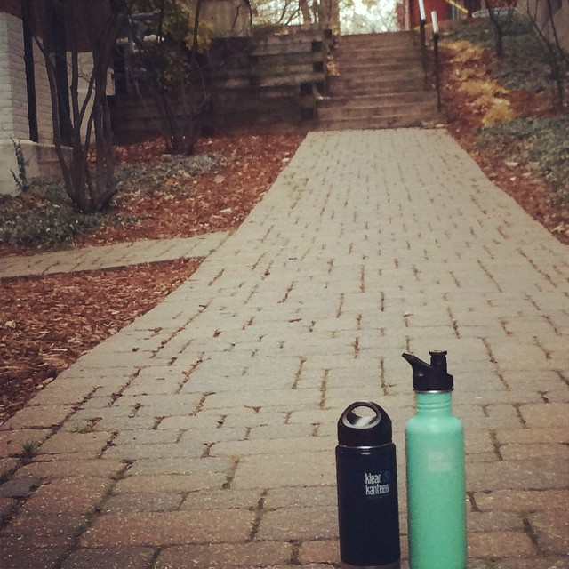 Our @kleankanteen comes wherever we do at the @1percentftp HQ! #BringYourOwn