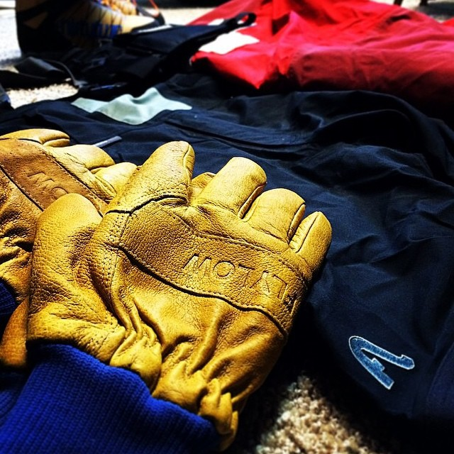 @freddy802 is ready for his first season of patrol with #RIDGEglove and #BAKERbib. #itshere #embracethestorm