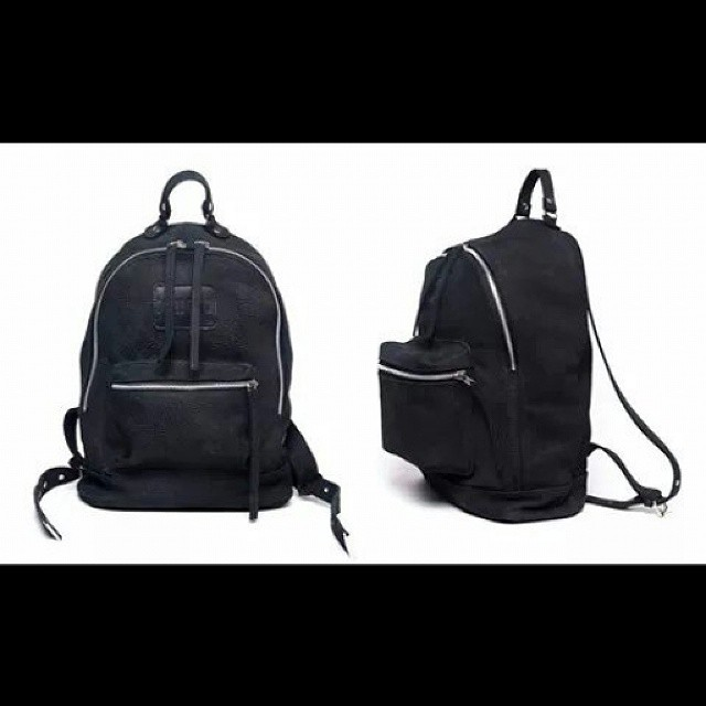 All black leather Navajas #mambo #backpacks #leather