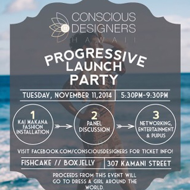 @consciousdesignershi launch #party tonight at @theboxjelly #cowork in @ourkakaako featuring #Organik in the discussion panel
