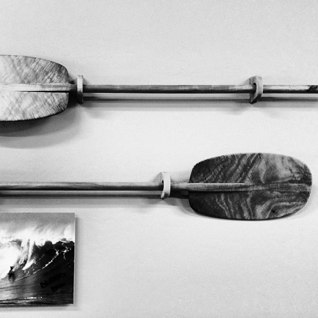 Simplicity @p3kona #koa #outrigger #paddle #woodisgood #fineart #thinline #rareformindoors #paddlehi