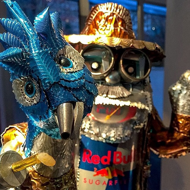 What's up, Amigos? Congrats to the Red Bull #ArtOfCan Chicago winner, 'Amigos' by Kathryn Beale.