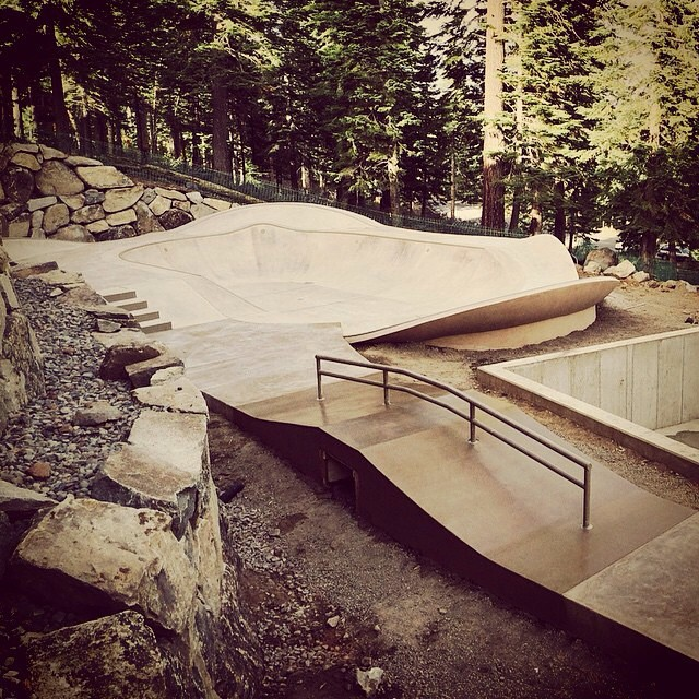 Regram @caskateparks . They made this for somebody's backyard. #sosick #skateboarding #radness