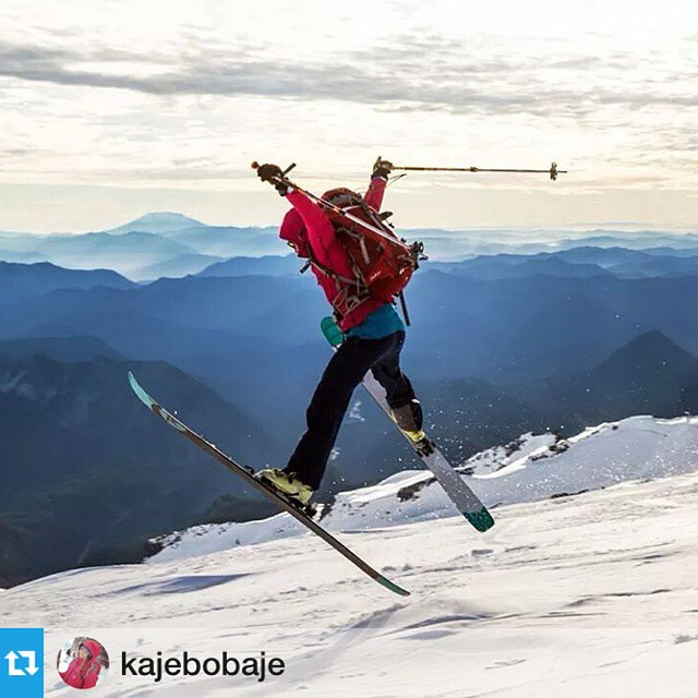 Truth. #Repost from @kajebobaje --- It aint skiin if it aint fun.  Thanks, @mbansak, for capturing the fun. #skipnw #iamsj @shejumps #sheadventures . #matttakesmadgoodphotos mattbansak.com