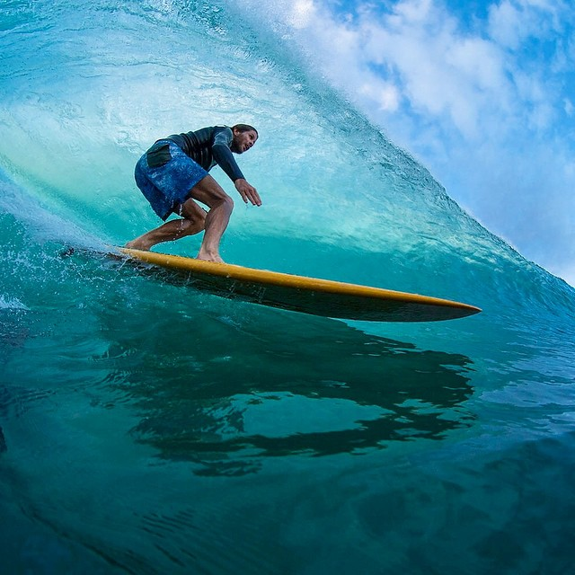 @joeljitsu enjoys the glide on Hawaiian time.  Photo: @laserwolf_photo  #SEEHAPPY