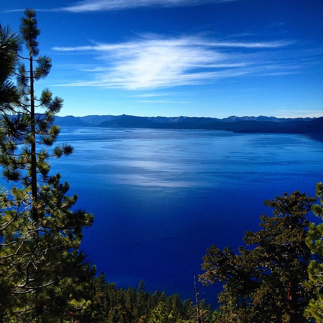 Tahoe. 11.9.14 #riseinspired #natureinspired #risedesigns #laketahoe #blue