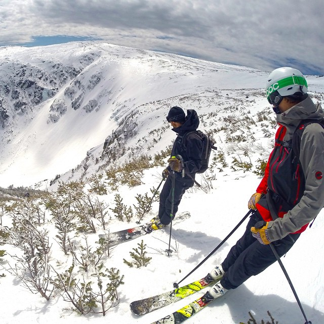 Photo of the Day! Spring skiing at Mt. Washington in New Hampshire. Photo by Jeff Fongemie.
