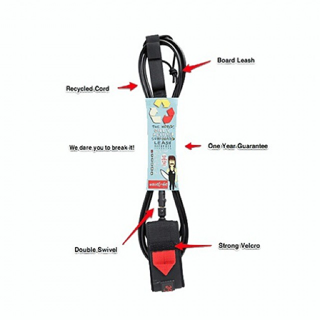 Wave Tribe Eco Surfboard Leash