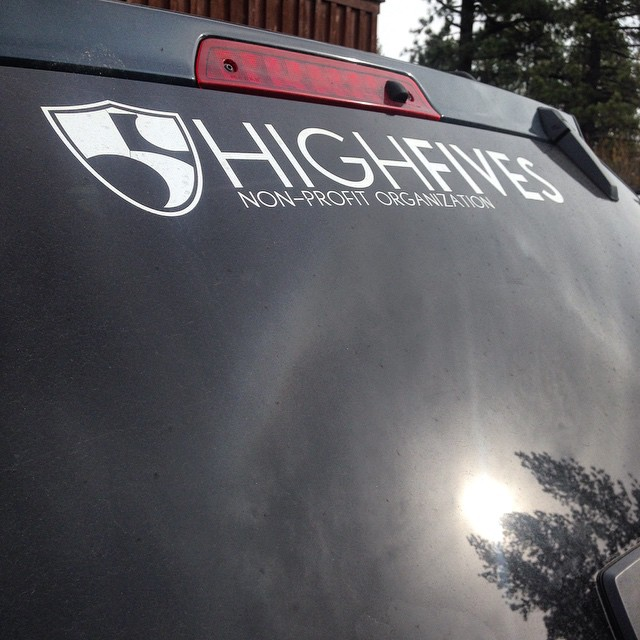 Do you have your Hi5s sticker yet? Available online and in our office in #Truckee #StickerPack