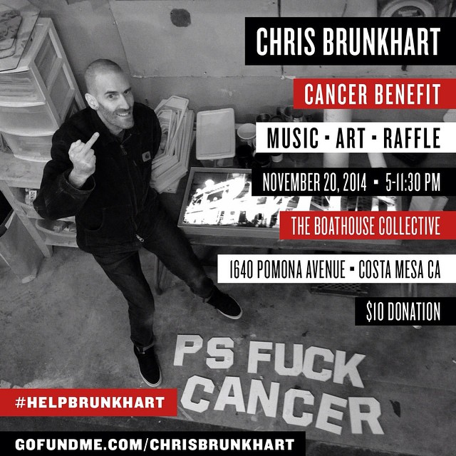 With a heavy heart we are sad to share the news that one of our own in the snowboarding community, iconic photographer Chris Brunkhart, has been diagnosed with Stage 4 colon cancer that has spread to his liver. We stand in solidarity with Chris and his...