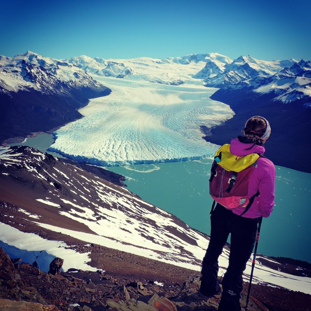 Take me away // Perito Moreno Glacier - view from the top the hill Bs As  #discoverpack #mafiajoy