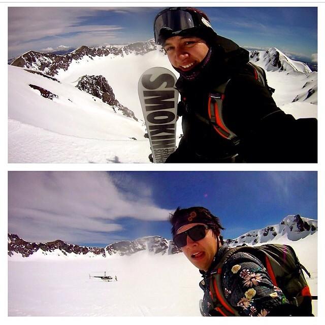 Gotta back Southern Hemisphere heli riding. Hiking to these peaks is a long journey - we recommend #HeliDrops #forridersbyriders #handmadelaketahoe #smokinhooligan #OK