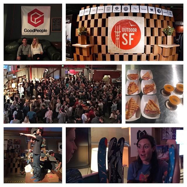 What an awesome night! Thank you to everyone for coming out to this years #OutdoorSF and supporting our local #Norcal #SanFrancisco #BayArea #Tahoe outdoor community! We are stoked on the huge turn out and how many people we got to meet who love...