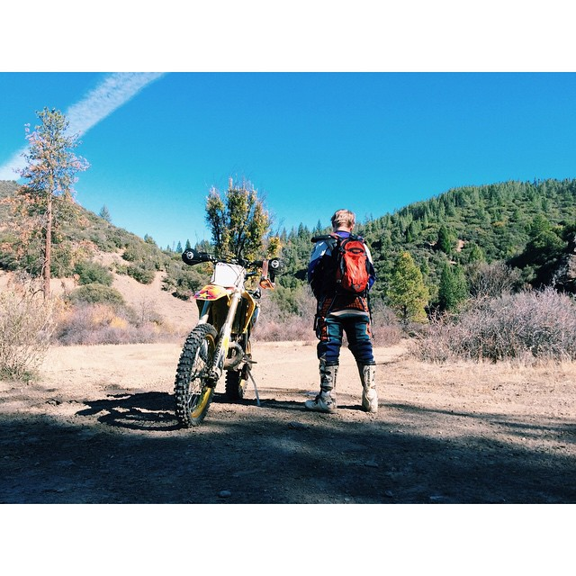 #TBT to riding last weekend in the Mendocino National Forest. #Notabadplacetopee