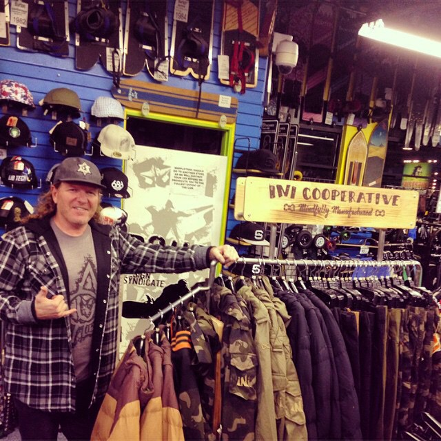 @saltypeaksboardshop has been a friend and partner to the brand, since Day1 ! We are so #Stoked on their continued support! One of the baddest frickin' shops in all the land. #StayHumanShopLocal #LetItSnow #MindfullyManufactured ♻️ #SaltLakeCity...
